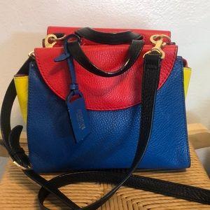 Kate Spade multi colored Saturday Leather Satchel